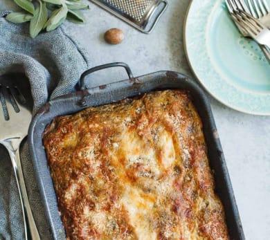 Butternut Squash & Turkey Lasagna
