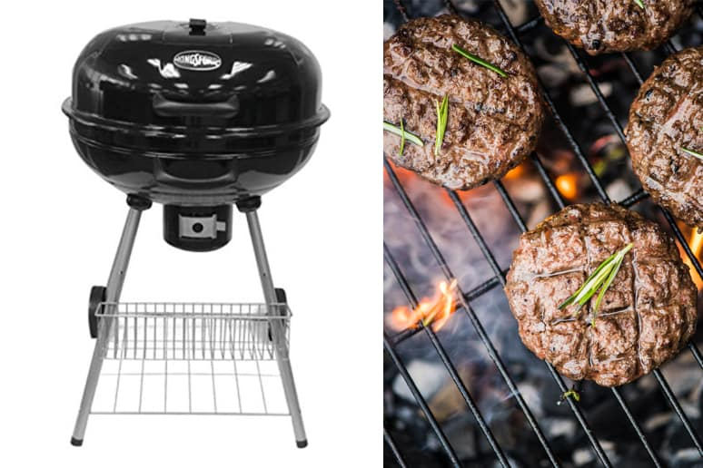 Kingsford Outdoor Charcoal Kettle Grill, 22.5-Inch, $72.90