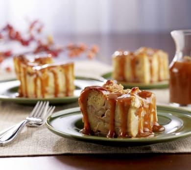 Apple Cinnamon Roll Bread Pudding
