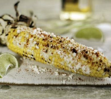 Mexican-Style Grilled Corn