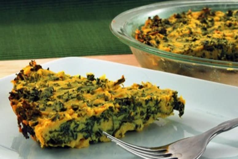 Quiche with Greens