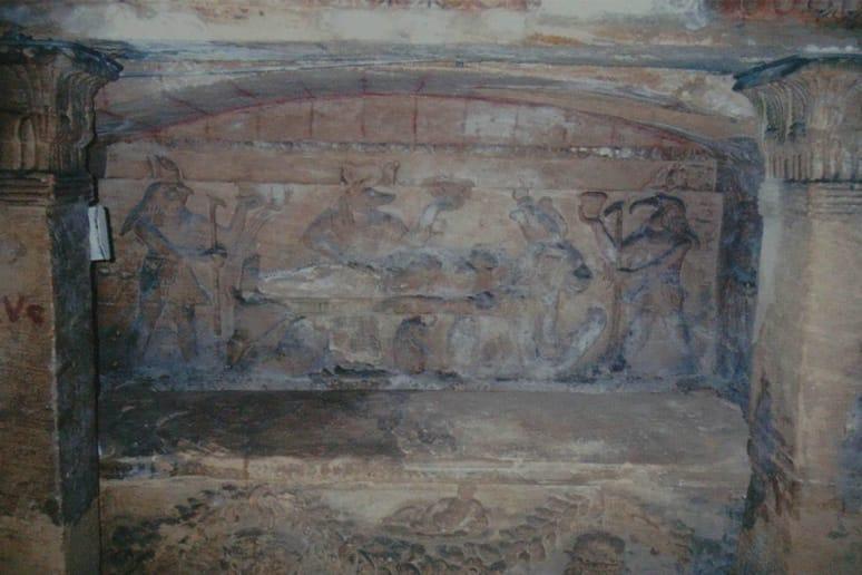 Catacombs of Kon el Shoqafa, Egypt