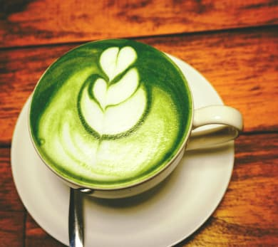 matcha latte almond milk recipe