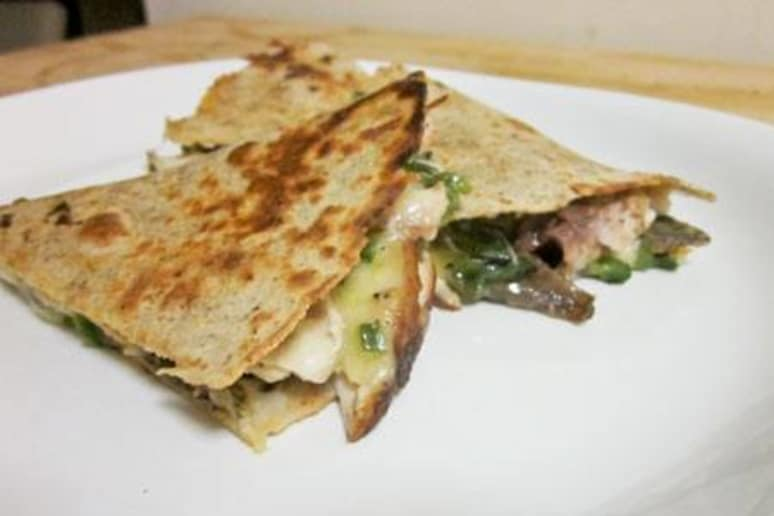 Wild Mahimahi and Jalapeño Quesadillas