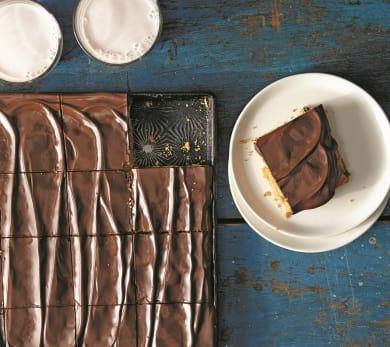 PB & Chocolate Pan Cookie
