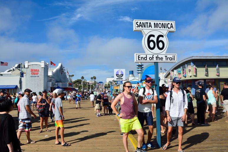 California: Santa Monica Pier (Santa Monica)