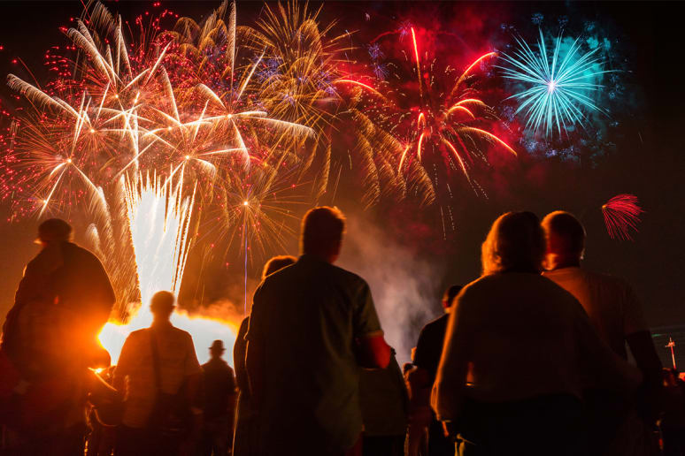 View Some Amazing Fireworks