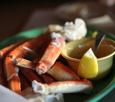 Grilled Crab Legs