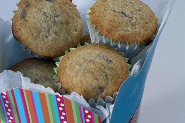 Vanilla, Cherry, and Almond Muffins