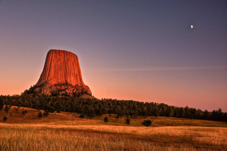 Wyoming: Devils Tower