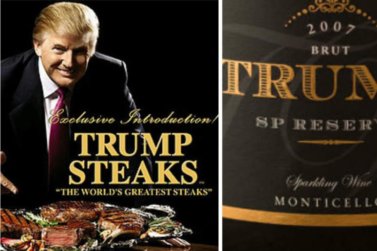 """The wine's website literally says, """"Is not owned, managed or affiliated with Donald J. Trump."""""""