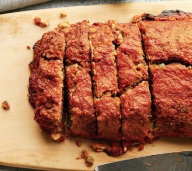Rich Roll's Ultra Meatless Tempeh Loaf