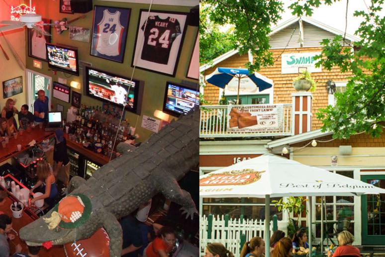 The Swamp Restaurant, University of Florida, Gainesville, Fla.