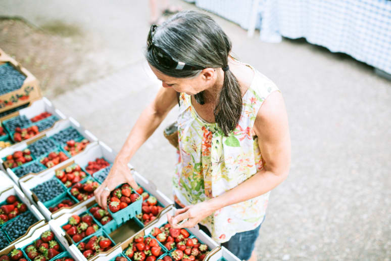 Buy Your Groceries at a Farmers Market