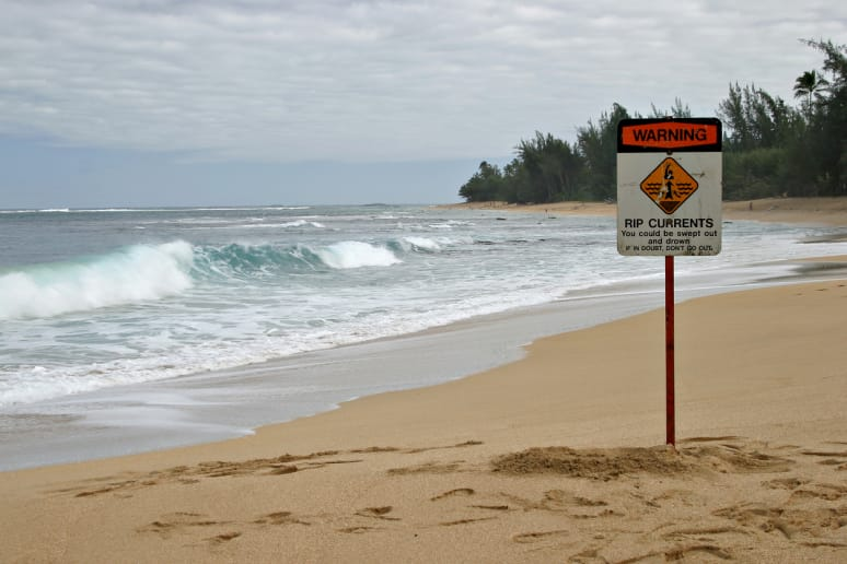 Be Mindful of Riptides and Strong Currents