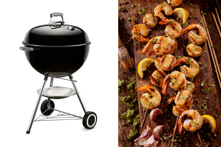 Weber 741001 Original Kettle 22-Inch Charcoal Grill, $99.00