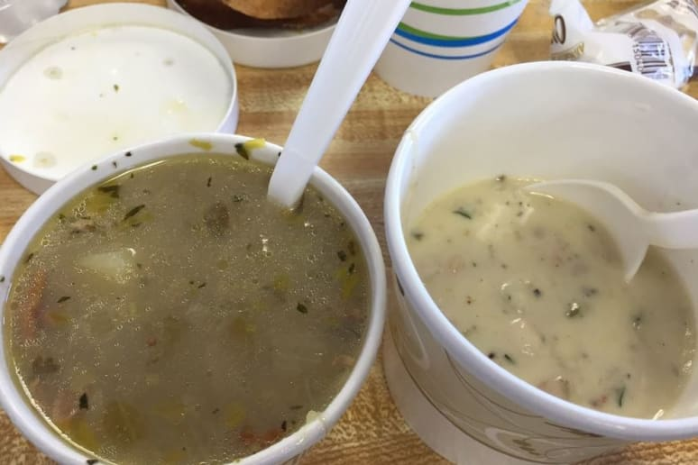 Connecticut: The Clam Castle, Madison: Clam Chowder