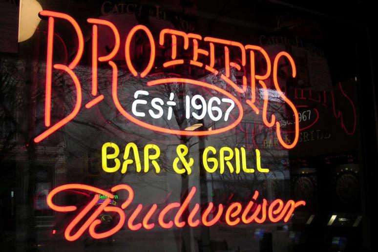 Brother's Bar & Grill, University of Iowa, Iowa City, Iowa