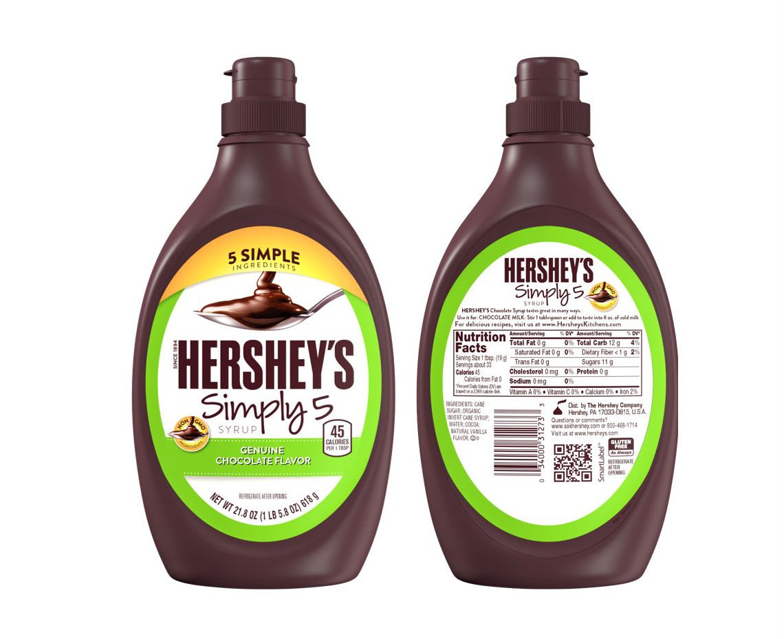 The New Hershey\'s Chocolate Syrup Is GMO-Free and Only Has 5 Ingredients