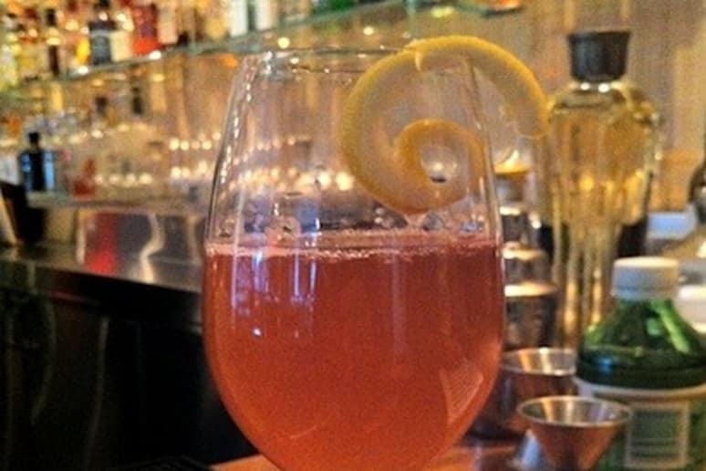Kir Italiano Cocktail