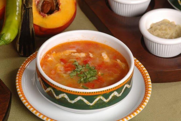 Turkey Fajita Soup