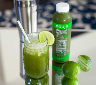 suja juice reef green moscow mule