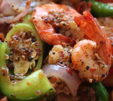 Deviled Shrimp or Squid