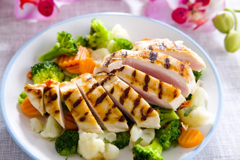 Healthiest: Grilled Chicken