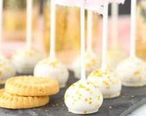 Champagne Cookie Pops