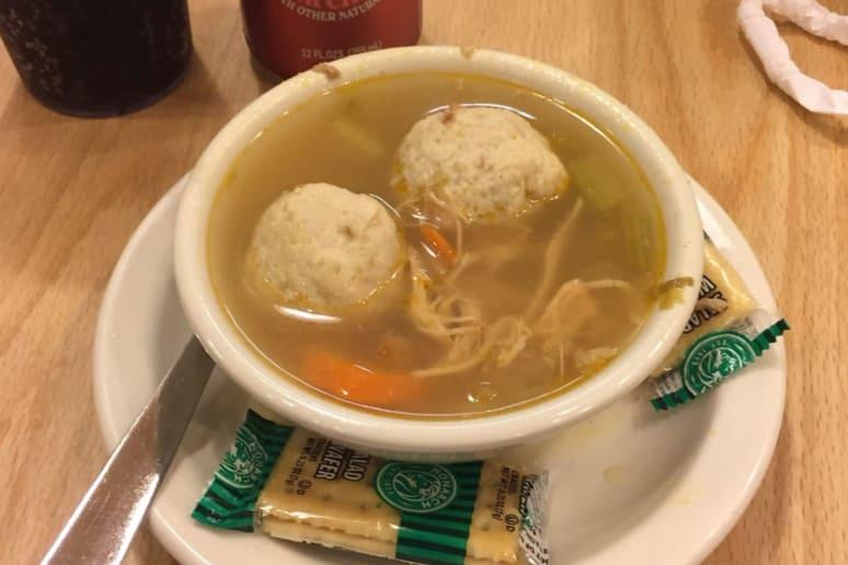 Minnesota: Cecil's Deli, St. Paul: Matzo Ball Soup