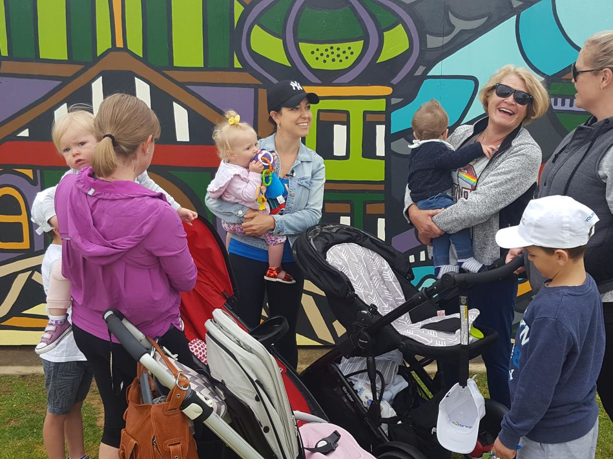 Big Pram Walk at Elizabeth Quay