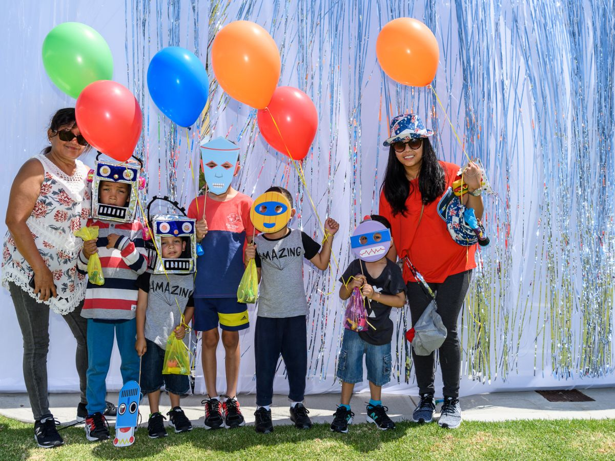 Stockland Robot Park 1st Birthday