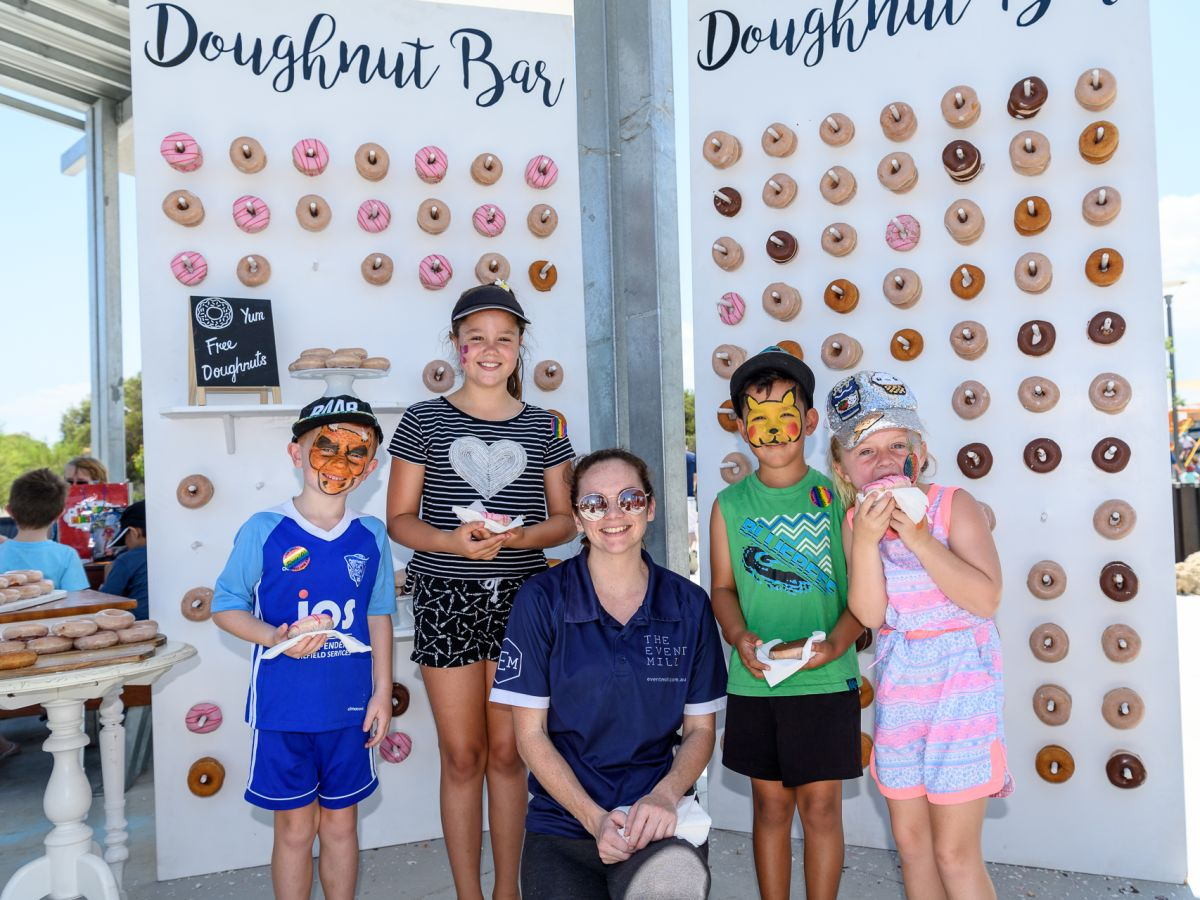 The Event Mill Donut Wall