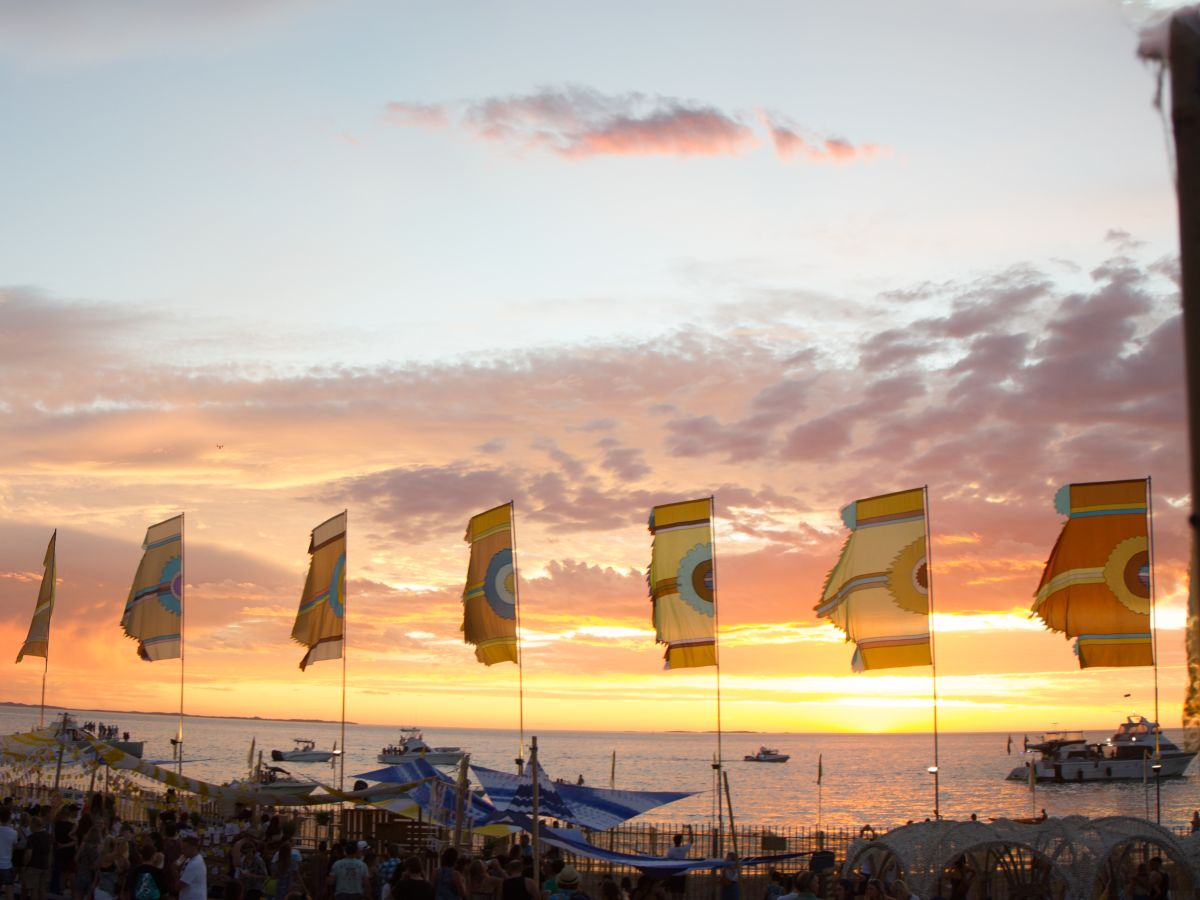 Beach Stage at Corona Sunsets Festival