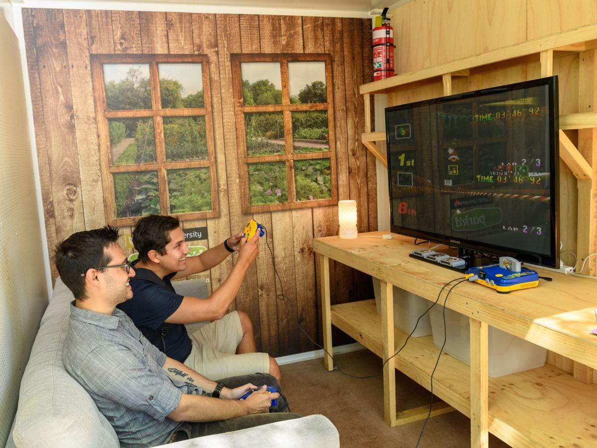 Retro Arcade Game Installation