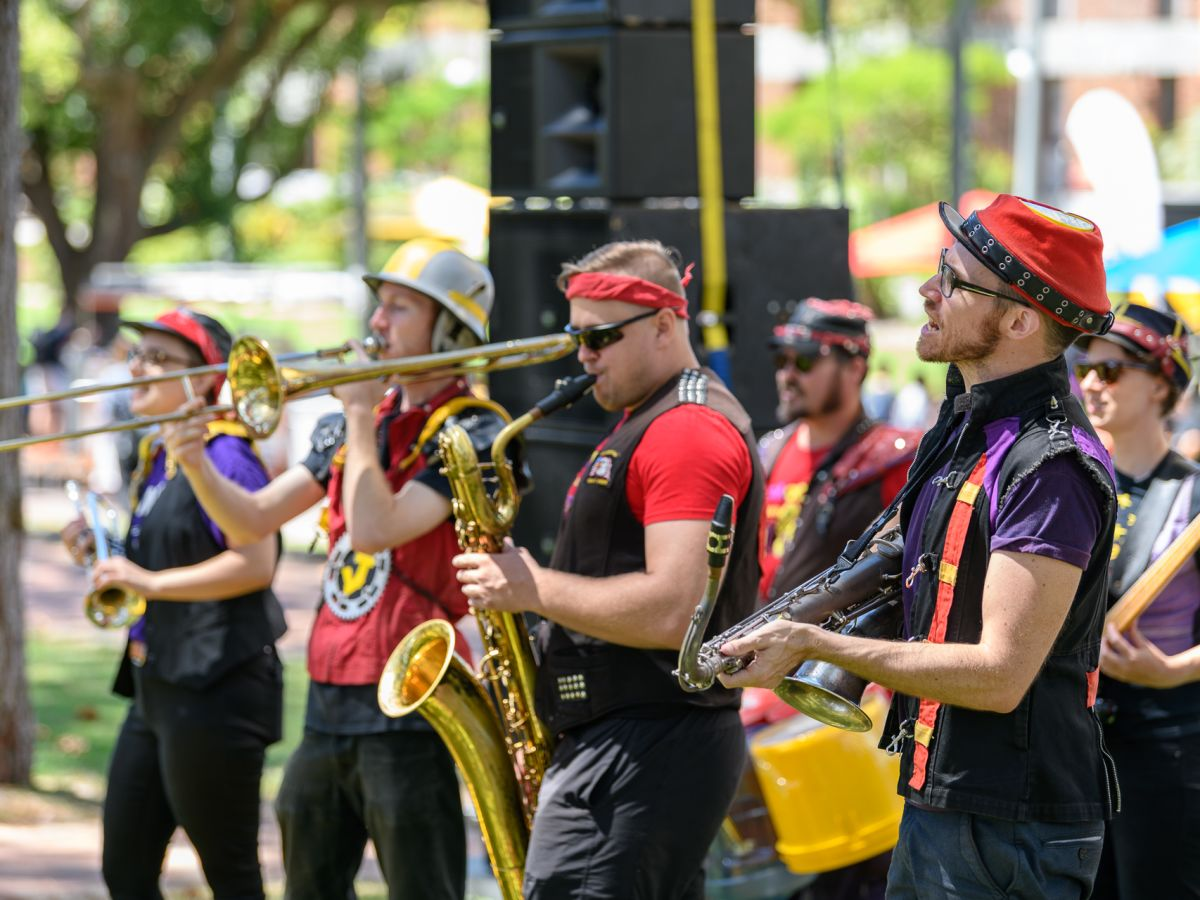 Entertainment Sourcing at Curtin O-Week Festival