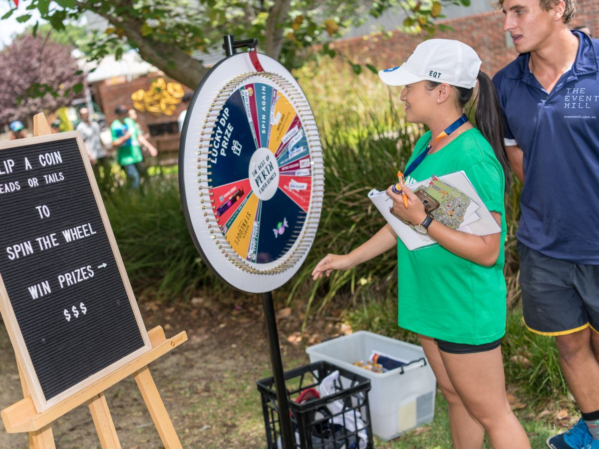 Activities and Giveaways Coordination at Curtin O-Week Festival