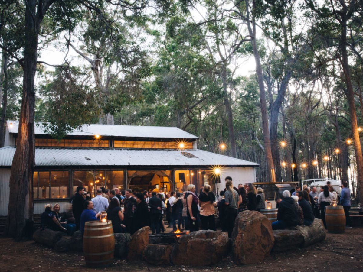 Feast in the Forrest at Leeuwin Estate