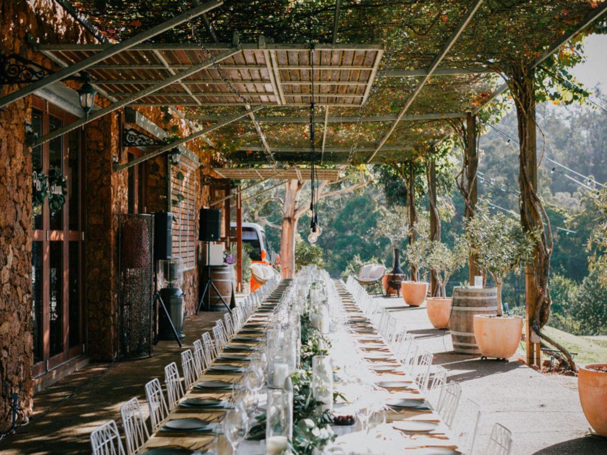 Long Table Dinner at Stonebarn Lodge