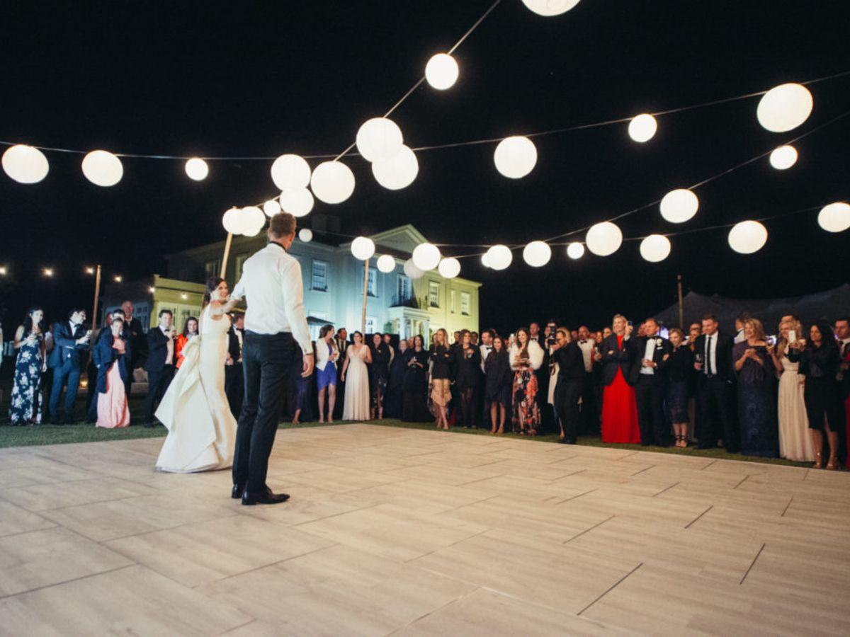 Whitewash Dance Floor