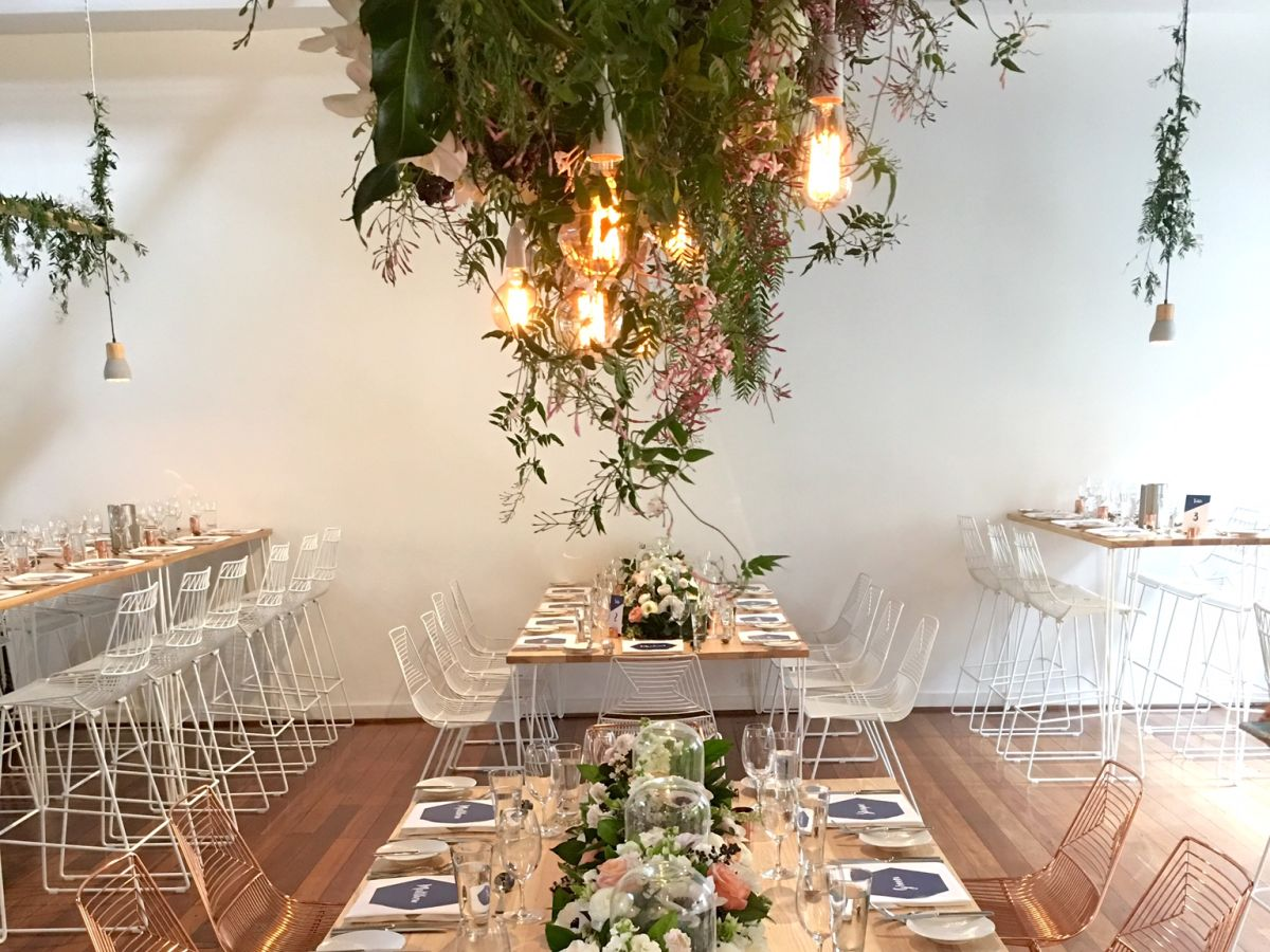 A bright elegant wedding held at Flour Factory