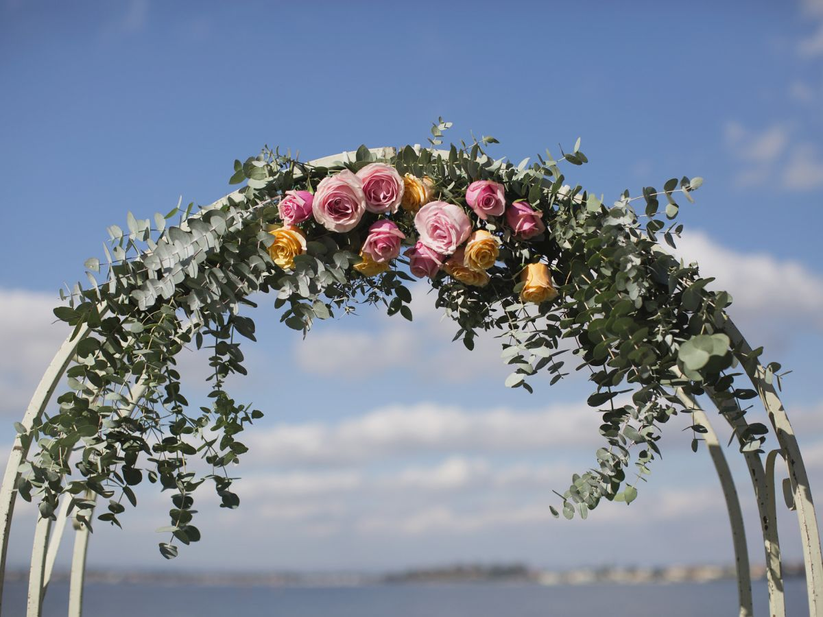 Vintage Arch with Custom Florals