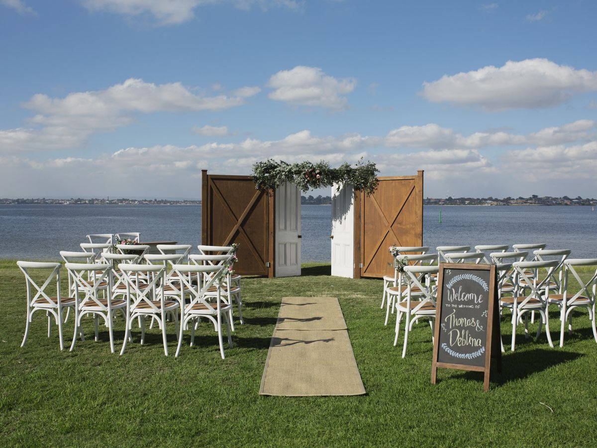 Barn Door Ceremony Package