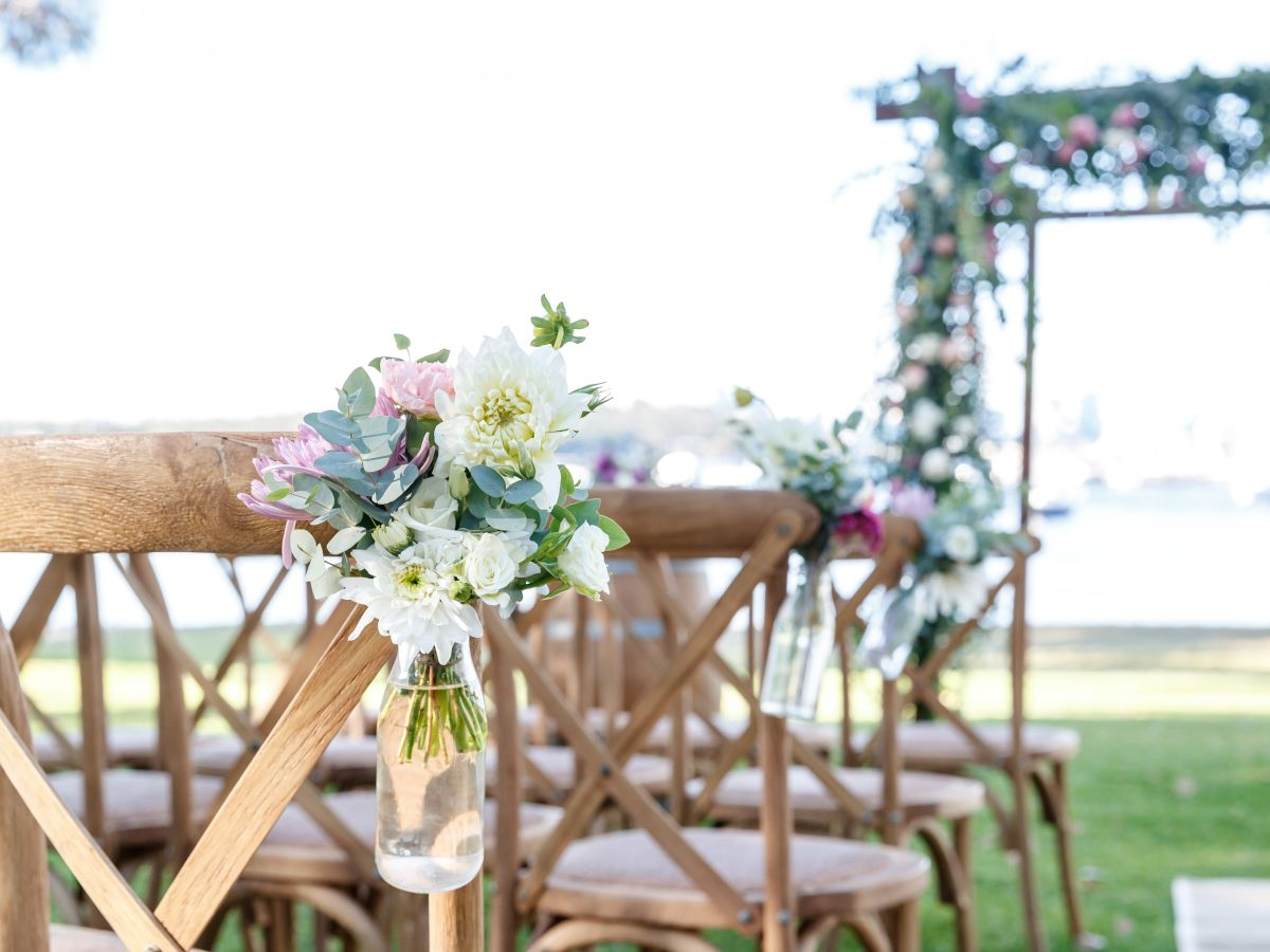 Rustic Garden Ceremony Package