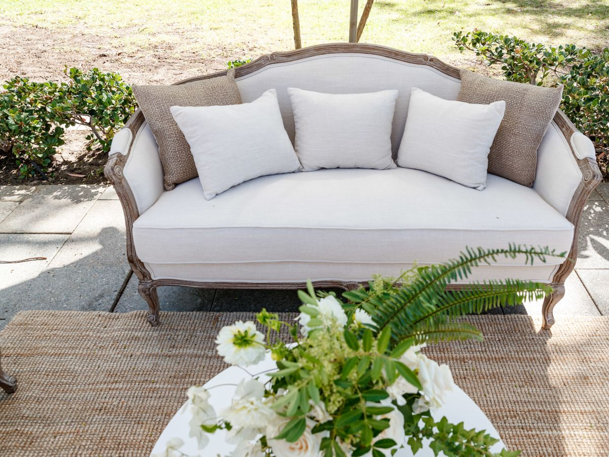French Provincial Lounge Setting