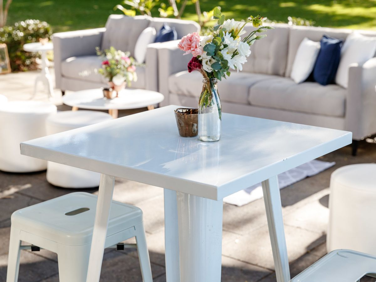 White Tolix Table