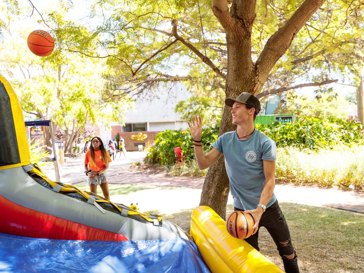 O-Week Inflatable Games
