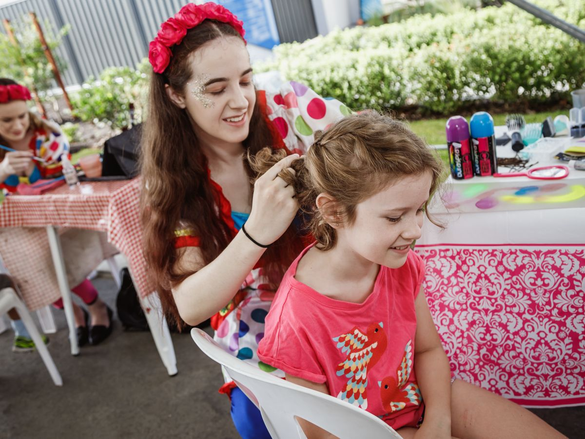 Face Painting & Crazy Hair