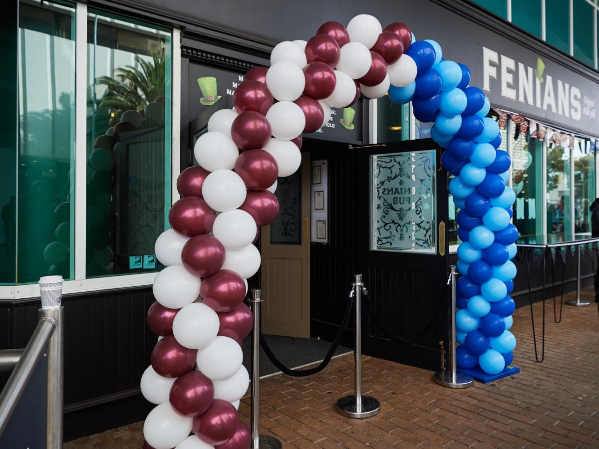 NRL Balloon Entrance