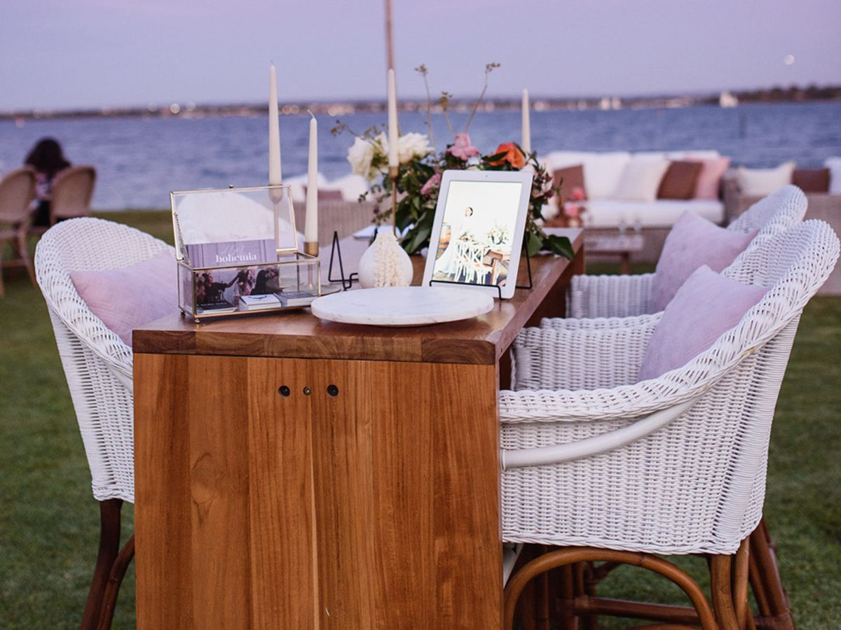 Galley Bay High Bar Table and Stool